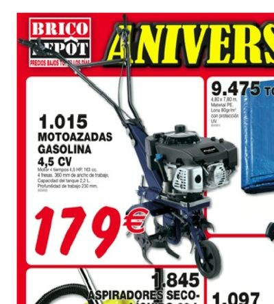 179 Euros... En el BricoDepot